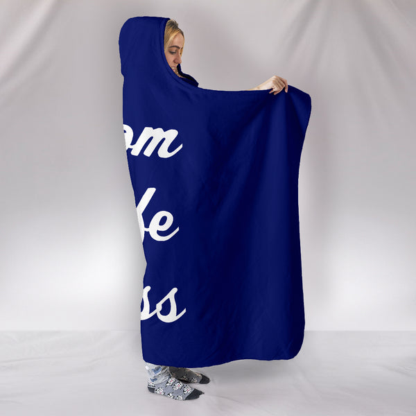 NP Mom Wife Boss Hooded Blanket
