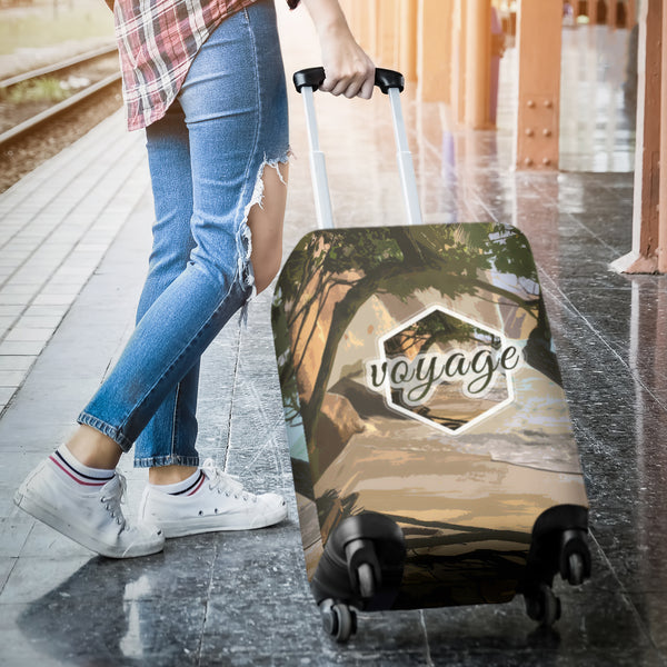 Voyage Luggage Cover