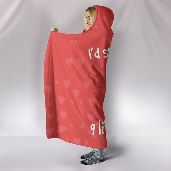 NP 9 Lives Hooded Blanket