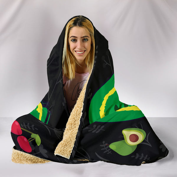 Vegan AF Hooded Blanket for Healthy Vegans