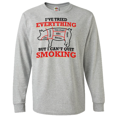 BBQ Lover I Can't Quit Smoking Tee