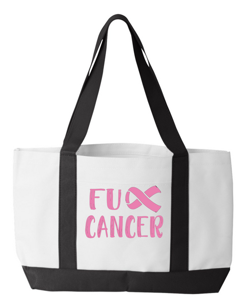 F Cancer  Tote Bag