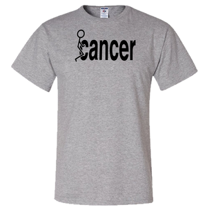 Fuck Cancer (black ltr ver) Adult Unisex T-Shirt