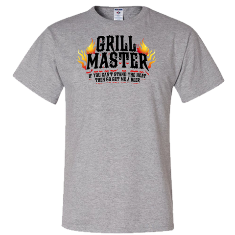 BBQ Grill master If You Can't take the Heat Adult Unisex T-Shirt