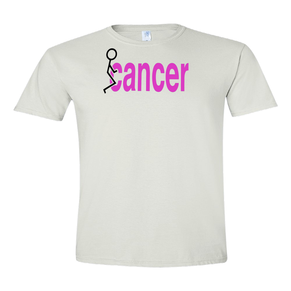 Cancer  funny fuck Adult Unisex T-Shirt