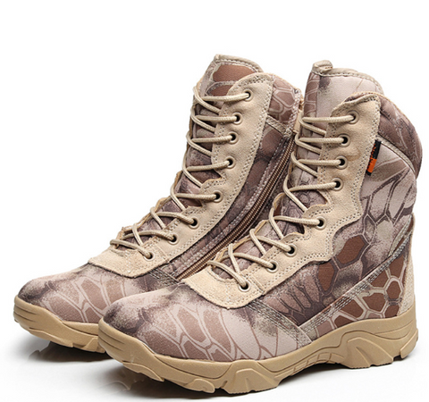 Camouflage Military Desert Combat Boots