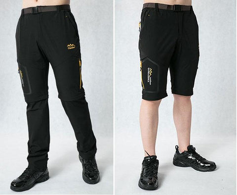 New! MountainRevo™ Water-Resistant, Breathable, Convertible Hiking Pants - Unisex