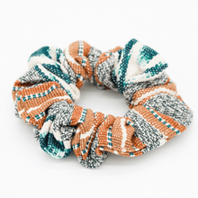 Load image into Gallery viewer, Mint Jaspe Woven Scrunchie