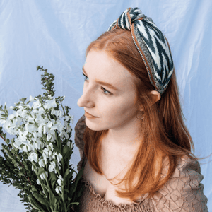 Mint Jaspe Headband