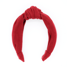 Load image into Gallery viewer, Cranberry Textile Headband
