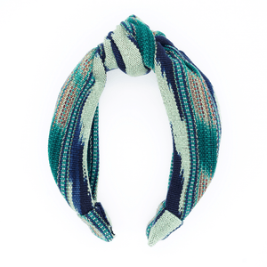Emerald Jaspe Headband