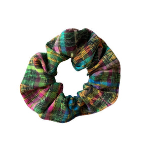 Up-Cycled Textile Scrunchie Bundle