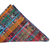 Load image into Gallery viewer, Zero Waste Bandana in Red and Rainbow