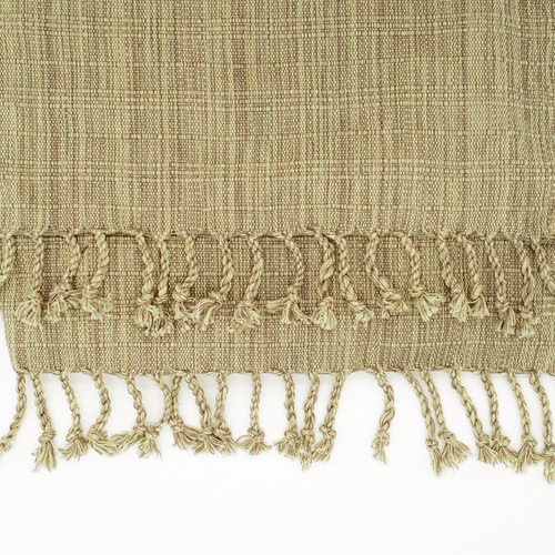 Gardenia Woven Throw