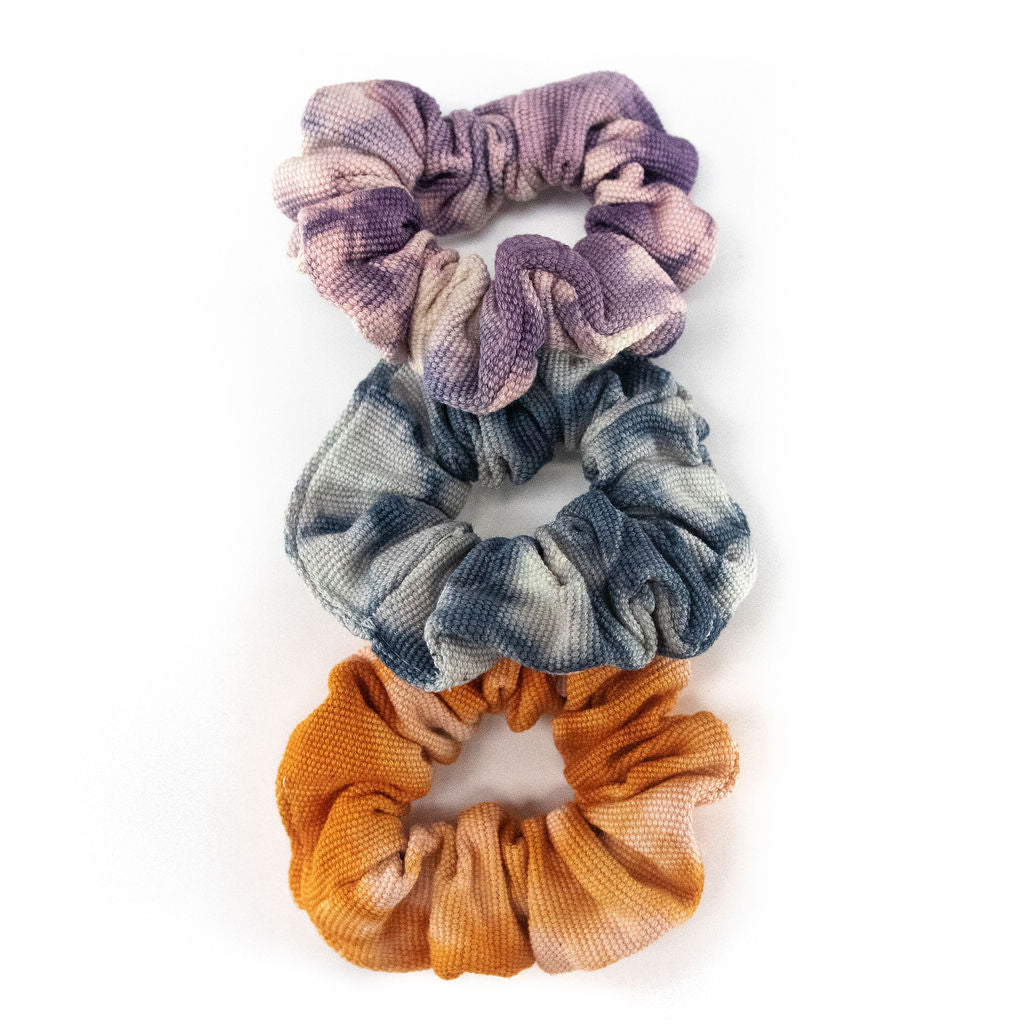 Tie Dye Scrunchie Bundle (set of 3)