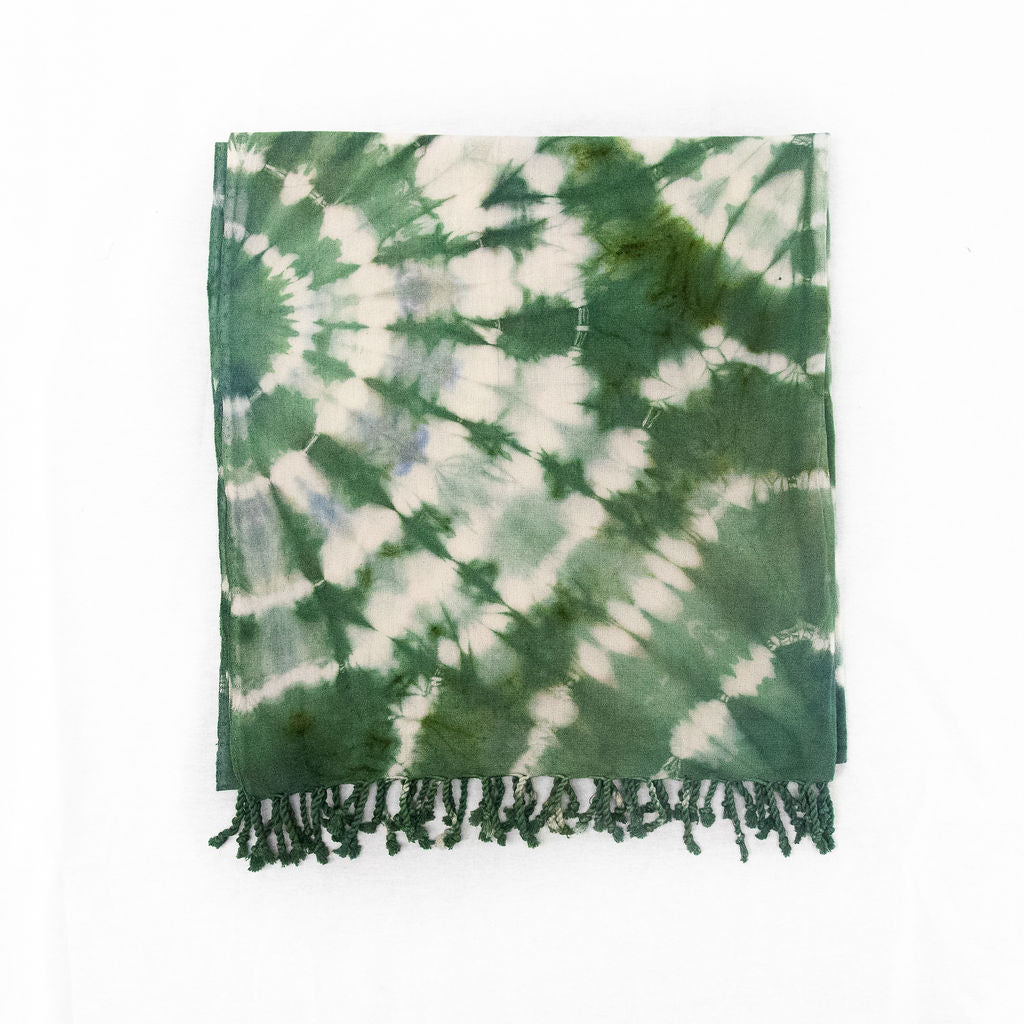 Palm Breeze Woven Beach Throw