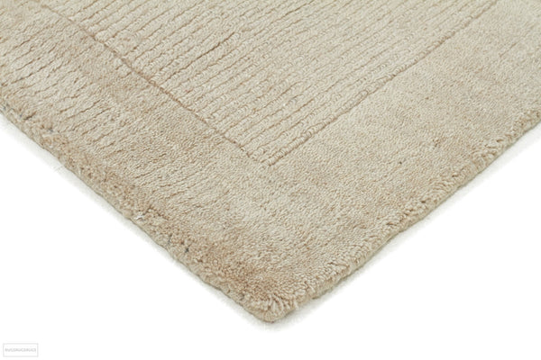 Timeless Loop Wool Pile Bone Coloured Rug