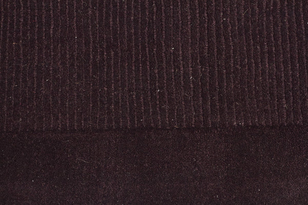 Timeless Loop Wool Pile Eggplant Coloured Rug