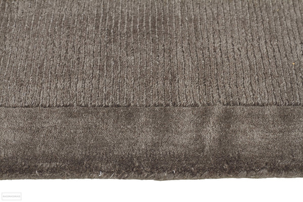 Timeless Loop Wool Pile Grey Coloured Rug