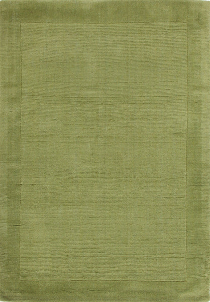 Timeless Loop Wool Pile Pistachio Coloured Rug - 165x115cm