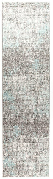 Aspect Riverside Sticks Blue Runner Rug - 300X80cm