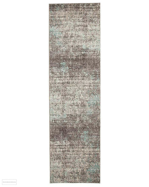 Aspect Riverside Sticks Blue Rug - 300X80cm