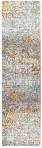 Aspect Riverside Sticks Multi Runner Rug - 300X80cm
