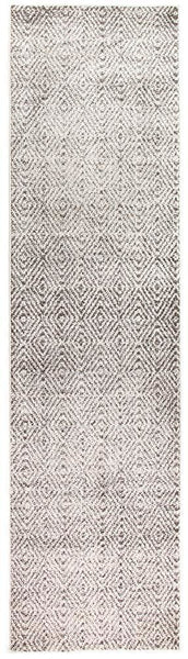 Aspect Riverside Ripple Grey Runner Rug - 300X80cm