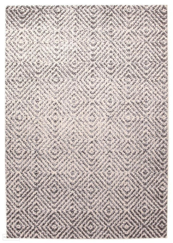 Aspect Riverside Ripple Grey Rug - 230X160cm