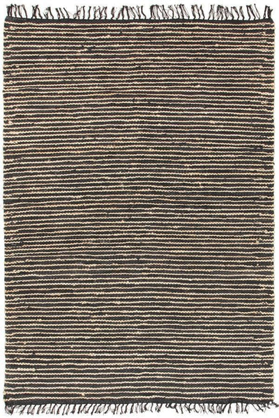 Atrium Delta Navy and Black Rug - 220x150cm