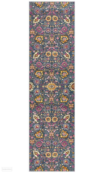 Babylon 210 Blue Runner Rug - MODERN