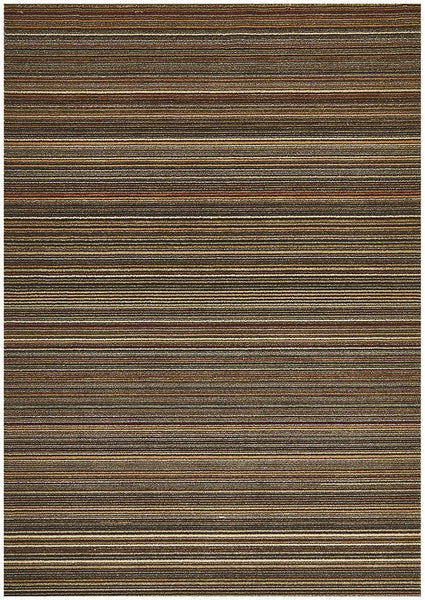Byblos Traditional Stripped Beige Rug - 230x160cm