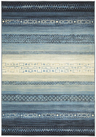 Calypso Collection 6102 blue Rug - 230x160cm