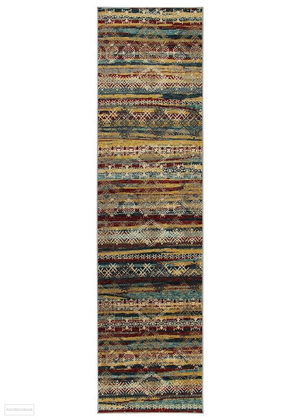 Cascade Moonlight Radiant Multi Rug - 300x80cm
