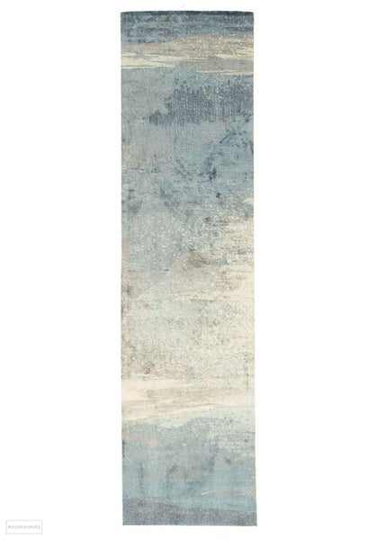 City Monet Stunning Blue Rug - 300X76cm