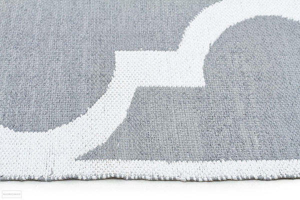 Coastal Indoor Outdoor 2 Grey Rug