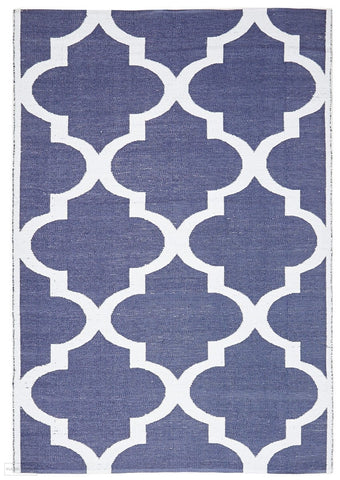 Coastal Indoor Outdoor 2 Navy Rug