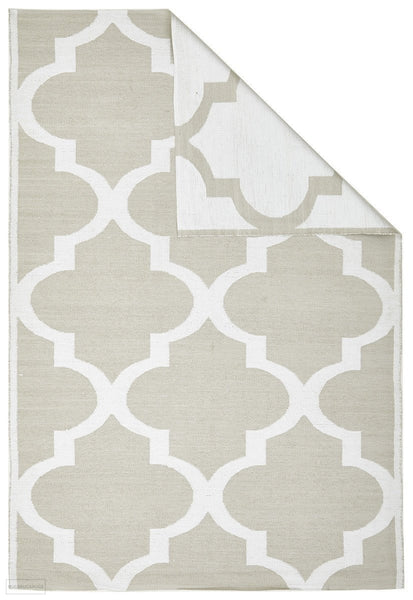 Coastal Indoor Outdoor 2 Taupe Rug
