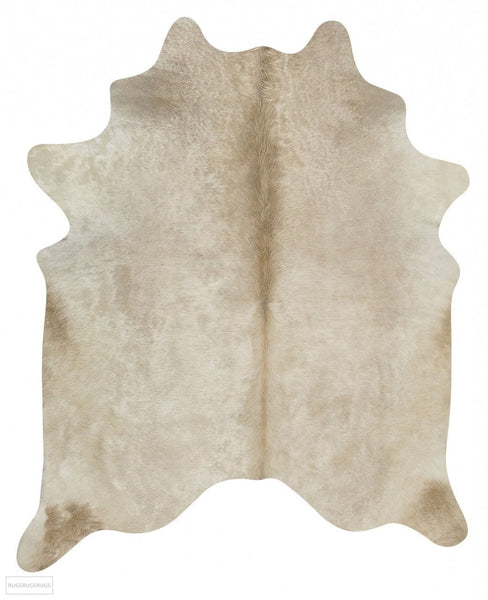 Exquisite Natural Cow Hide Champagne - Cowhide