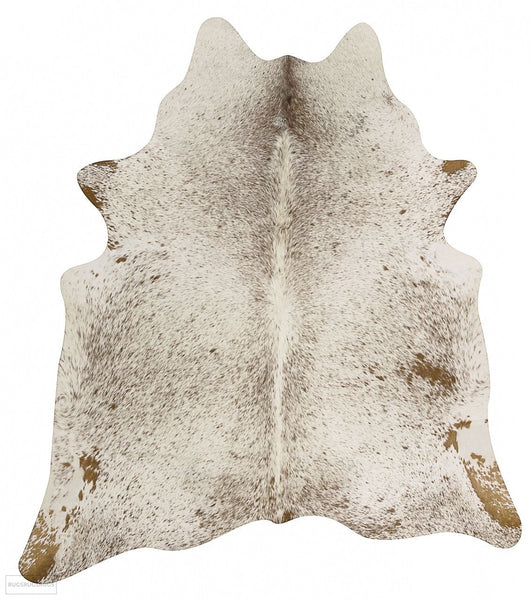 Exquisite Natural Cow Hide Salt & Pepper Brown - Cowhide