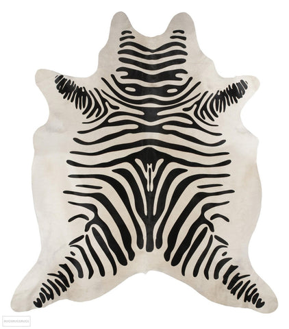 Exquisite Natural Cow Hide Zebra Print - Cowhide