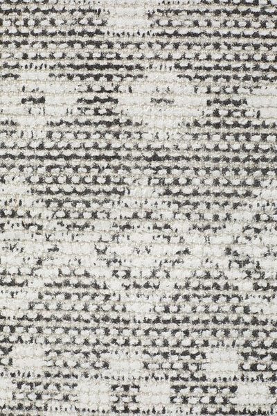 Castle Bella Tribal Woven Rug Charcoal Grey - MODERN