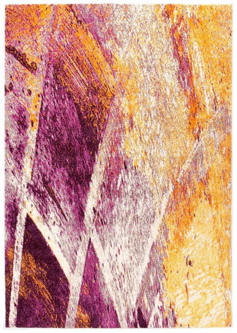 Dimensions Divinity Strokes Violet Modern Rug - 230X160cm