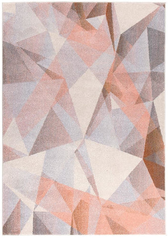 Dimensions Divinity Shatter Blush Modern Rug - 230X160cm