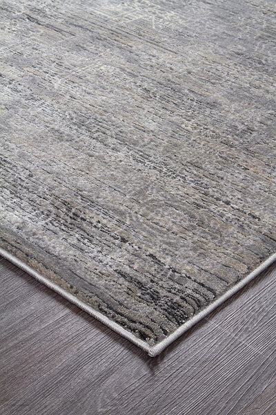 Drift Nisa Transitional Rug Grey Charcoal Ivory