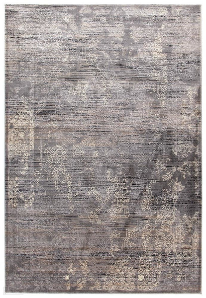Drift Nisa Transitional Rug Grey Charcoal Ivory - 230X160cm