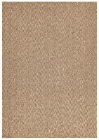 Eco Sisal Herringbone Brown Rug - 160x110cm