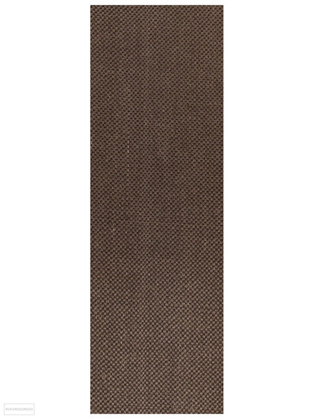 Eco Sisal Tiger Eye Brown Rug - 300x80cm