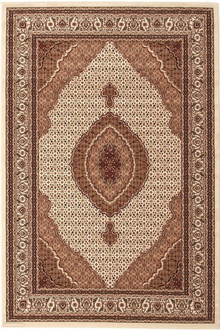 Empire Collection Stunning Formal Oriental Design Cream Rug - 170x120cm