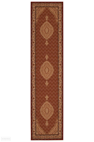 Empire Stunning Formal Oriental Design Runner Rug Red